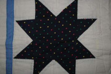 Patchwork adventi csillag